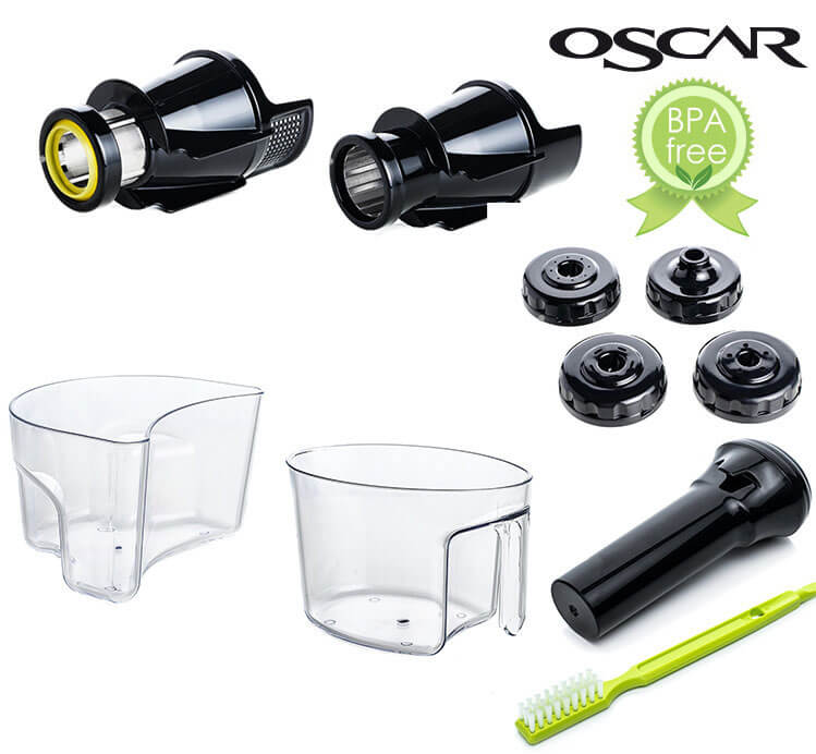 Oscar DA-1200 Neo Plus, Oscar & Hurom Juicers